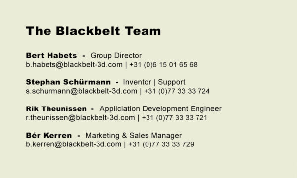BB team members