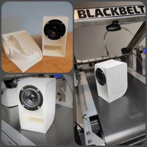 Blackbelt 3D speakers